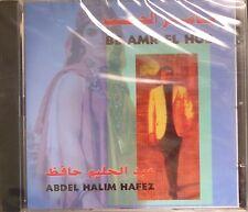 arabic egypt CD-ABDEL HALIM HAFEZ - be amr el hob -mint-sealed-free shipping