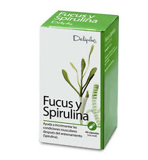 SPIRULINA And FUCUS Food Supplement Detoxification  Natural FREE Shipping