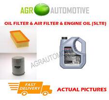 PETROL OIL AIR FILTER + SS 10W40 FOR LAND ROVER FREELANDER 1.8 117 BHP 2000-06