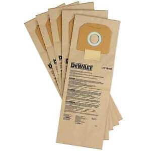 DeWALT Papier-Staubbeutel DWV9401-XJ - Staubsaugerbeutel für DWV902L/M - 5 Stück