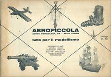 Aeropiccola Catalogo n° 40 - Torino fine anni '60 - Aerei Motori Navi Auto