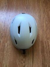 Giro Seam Stack Vent Matte White Snowboard Ski Helmet Mountain Small X-Static M
