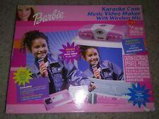 Barbie karaoke Set Up Vintage