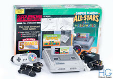 Super Nintendo SNES Super Mario All Stars Retro Console Bundle Boxed! PAL