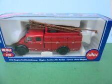 Siku Super Classic #4115 MAGIRUS AUXILIARY FIRE TENDER MIB 1:50 Scale