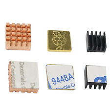 3pcs Heat Sink Cooling Pin Kit For Raspberry Pi 2 3 B+ CPU Fan Computer Accs
