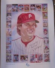 "1984 Tug McGraw Philadelphia Phillies Topps Baseball Poster 22 x 27"""