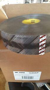 3M 373CP Scotch Custom Printed Box Sealing Tape Clear, 72 mm x 914 m