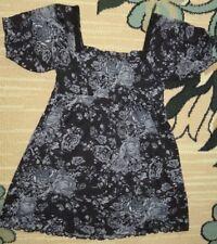 Feine  Damen- Bluse  G R. 38 in  BLUMENMOTIV