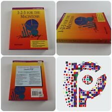 1-2-3 For The Macintosh by Mary Campbell  Book Manual