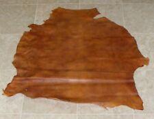(Dae10323-8) Hide of 2 Tone Brown Lambskin Leather Hide Skin