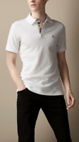 NWT Burberry Brit White Polo T-shirt Authentic Size XS,S,M