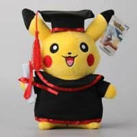 "Doctor Graduation Pokemon Pikachu Plush Cute Toys 12"" Great Gift NEW"