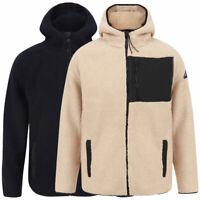 Tokyo Laundry Men's Brewer Full Zip Fleece Hoodie Hooded Top Jacket Sweater Warm