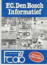 Presentatiegids FC Den Bosch 1983-1984