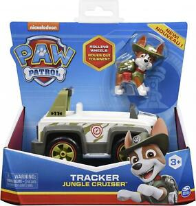 Paw Patrol Tracker Jungle Cruiser Vehicle & Figure Set