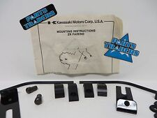 NOS Kawasaki ZR Fairing Mounting Kit Includes Hardware And Instructions