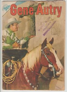 GENE AUTRY #18 IN SPANISH! 1955 WESTERN MEXICAN COMIC