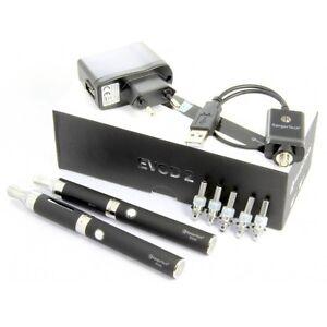 Kanger eVod 2 eVod 2 Doppelpack incl.5 Köpfe Kit e Zigarette Komplettset Starter