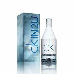 Calvin Klein CK IN2U Him Eau de Toilette 100ml Spray Damaged Box