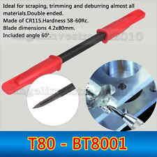 1 piece NOGA ADJUSTABLE chamfering Deburring tool SCRAPER T80 - BT8001 Blade