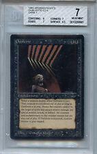 MTG Arabian Nights Oubliette Dark Mana Symbol 1 BGS 7.0 NM Card WOTC 9961