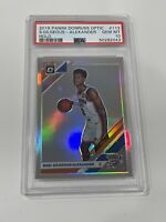 2019-20 Donruss Optic Shai Gilgeous Alexander Silver Prizm Holo PSA 10 Gem Mint