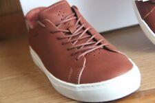 Lacoste L.12.12 Unlined Trainer Shoe Men Tan Size 12