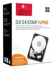 HGST DESKSTAR NAS 4TB 3.5-Inch High-Performance Internal HD-Retail Kit 0S04005