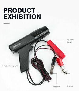 Petrol Engine Ignition Inductive Timing Light Xenon Lamp Strobe Tester Gun