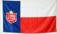 Lone Star Beer Flag Banner 3X5Feet