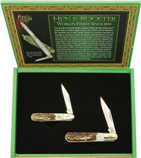 Hen & Rooster Knives Grandfather Grandson Set HR251GFGS