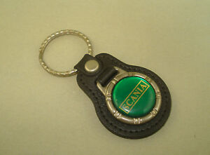 Vintage Green SCANIA Key Chain Ring