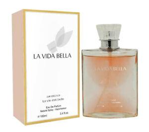 LA VIDA BELLA Women's Designer Perfume  EDP 3.4 oz