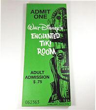 Disneyland Enchanted Tiki Room 50th Anniversary Original Ticket LE Wall Plaque