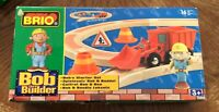 Brio Bob the builder 32800 extremely rare Bobs starter set wooden railway system