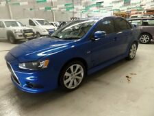 2014 Mitsubishi Lancer CJ MY14.5 ES Sport Blue Automatic 6sp A Sedan