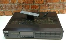 Sony ST-S444ES II Vintage Hi Fi separates AM & FM Radio Tuner