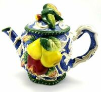 Fitz And Floyd Classics Teapot - Fruits And Berries