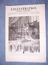L'ILLUSTRATION 1928 DU 7/2/1880 L'OSIER BANQUISE VILLEBERNIER DIGUE RHONE FRAYOL
