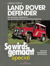 LAND-ROVER DEFENDER, den Klassiker optimieren, Motor-Fahrwerk-Interieur -Tuning-