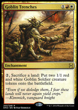 MTG Magic - (R) Eternal Masters - Goblin Trenches - NM