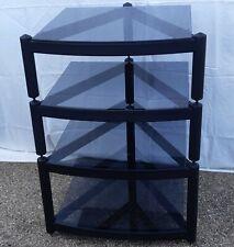 More details for atacama equinox hi-fi rack with 4 smoked glass shelves, excellent condition