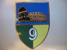 DISTINTIVI GUARDIA DI FINANZA SCUDETTO 9a LEGIONE ROMA 1953 SMALTI BOMISA