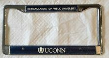 UCONN Huskies Metal License Plate Frame New England's Top Public University