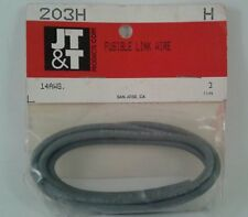 Fusible Link Primary Ground Wire 14G 3FT JT&T 203H Gray NOS - USA Made