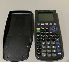 Texas Instruments TI-83 Graphing Calculator with Cover Tested