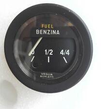 "Fuel Gauge instrument VEGLIA BORLETTI FIAT 124 SPIDER - 128 ""USED"" dashboard"