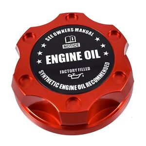 New Orange Engine Oil Filler Cap For Nissan Infiniti Nismo GTR 350z 370z 240SX