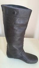 WOMEN MISS SIXTY GENUINE LEATHER KNEE HIGH BOOTS SlZE UK 6